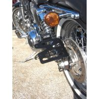 Support de Plaque Lateral Harley Davidson