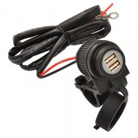 Chargeur USB pour guidon 2A
