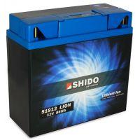 Batterie Lithium Ion SHIDO pour moto 51913