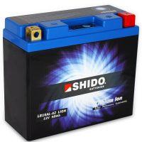 Batterie Lithium Ion SHIDO pour moto LB16AL-A2