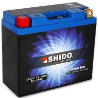 Batterie Lithium Ion SHIDO pour moto LT12B-BS