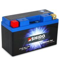 Batterie Lithium Ion SHIDO pour moto LT14B-BS
