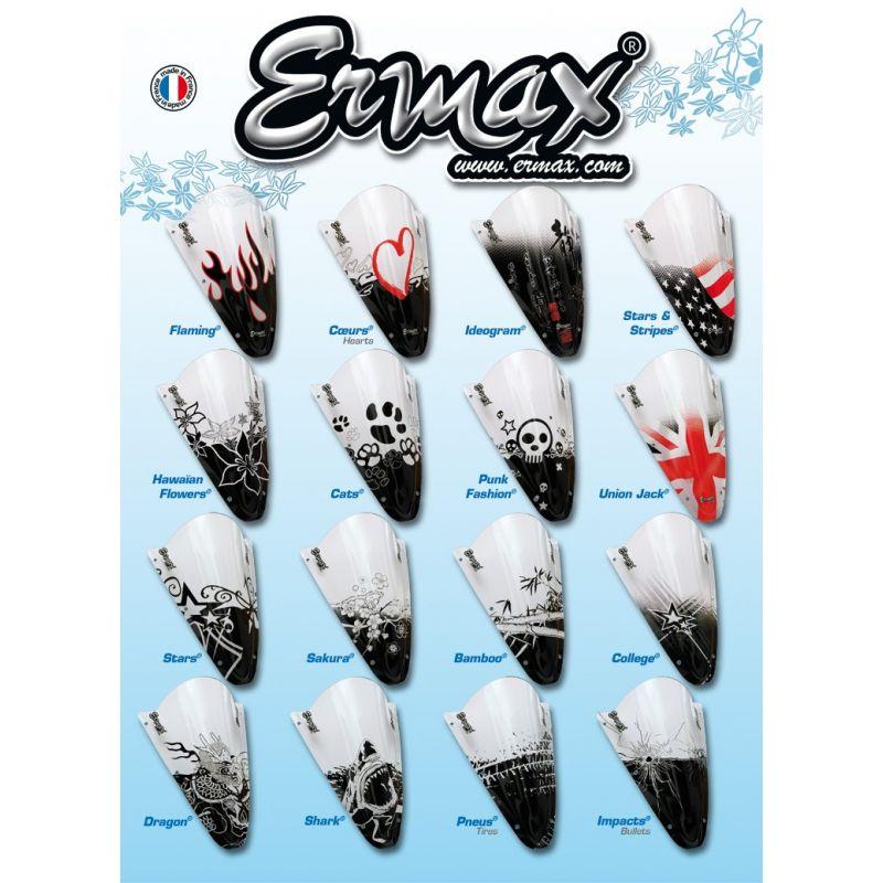 Bulle ermax haute protection 10 cm pour tdm 900 2002 for Bulle haute 900 tdm