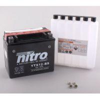 Batterie de moto NITRO YTX12-BS