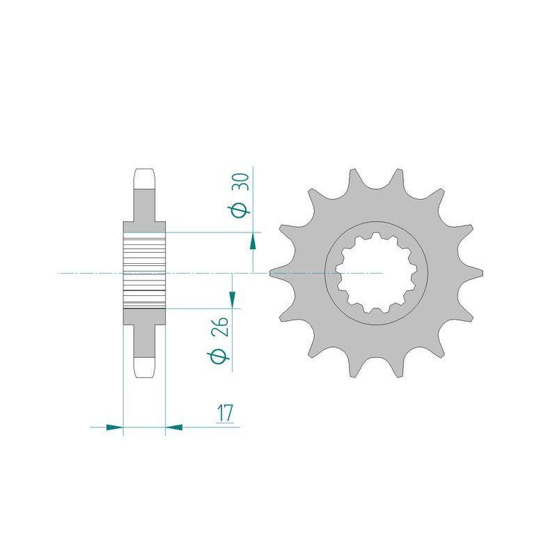 Blueprint adm53623 Preneur Cylindre Embrayage