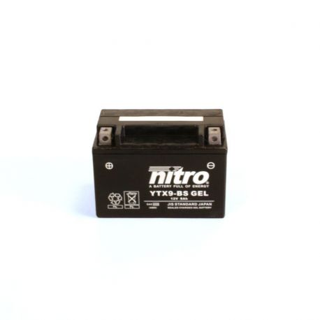 Batterie de moto NITRO YTX9-BS Gel