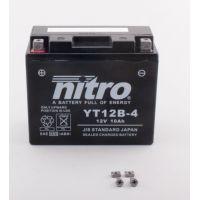 Batterie de moto NITRO YT12B-4