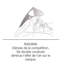 Bulle racing PUIG pour APRILIA RSV1000 R MILLE 04 - 08