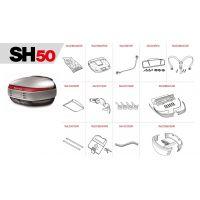 Pièces de rechange pour SHAD SH50.