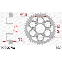 AFAM COURONNE ACIER au pas de 530 pour DUCATI AFA50900