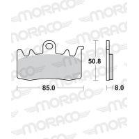 Plaquettes de frein moto SBS Racing Dual Sinter 900 DS