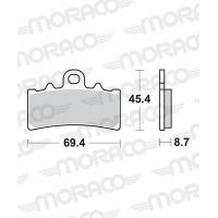 Plaquettes de frein moto SBS Ceramic 877 HF