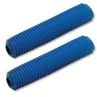 Soufflet de fourche Diametre 28/30 Longueur 180mm bleu
