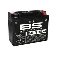 Batterie de moto BS Y50N18 LA /A2 SLA activé